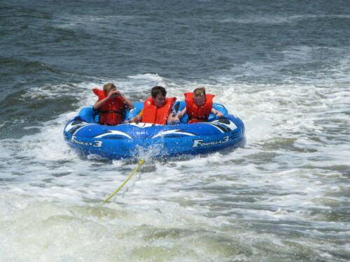 Towable Inflatable Tube sport boat Tow Raft 3 person