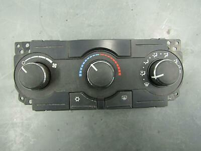 DODGE CHARGER: Heater A/C Control Panel 2008 2009 2010