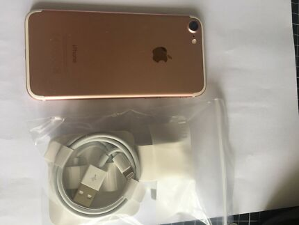 iPhone 7 32GB Rose Gold excellent