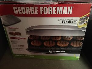 Gorge Foreman Extra Large Grill