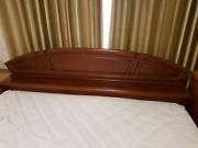 Solid wood king size bed Glen Waverley Monash Area Preview