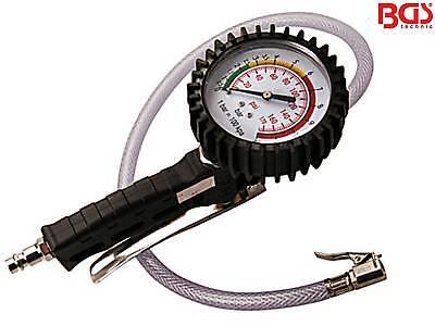 BGS 3242 Druckluft Reifenfüller Reifenfüllgerät Luftdruck Reifen prüfen 0-12bar