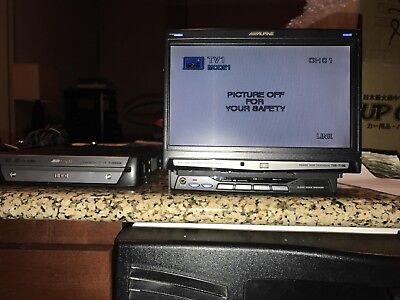 Alpine F1 Monitor-TVE-T730 & NVE-N555SS HDD Car Navigation