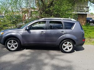 2008 Mitsubishi Outlander XLS 4X4 P.Leather Heated Seats,Bluetoo