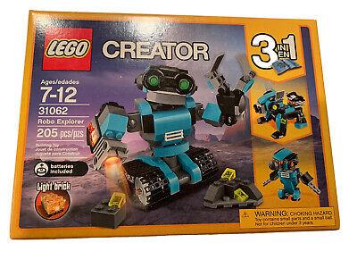 Lego 31062 Creator 3-in-1 Robo Explorer 31062  New in Sealed Box