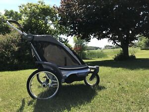 Chariot Chinook 2 premium Thule double jogging stroller