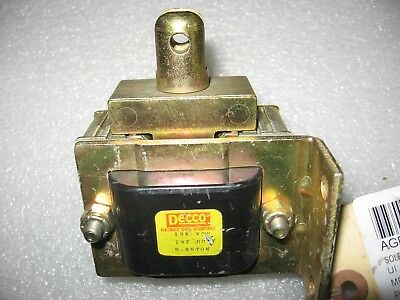 Decco 9-2579m Solenoid Coil Piston 125 Vdc Sc Electric Co Assembly Sa-35824-2