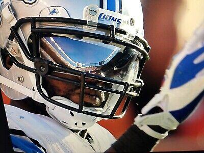 385b8b2ff52e Oakley Football Helmet Visor Eye Shield Clear MIRROR Calvin Johnson MEGA  RARE