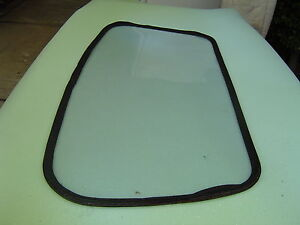 RENAULT MEGANE SOFT TOP 1996 - 2007 REAR PLASTIC WINDOW REPLACEMENT