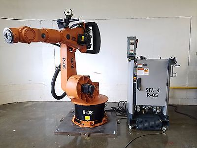 Kuka Kr200 Robot W Krc2 Controller Complete Robotic System Abb Fanuc Motoman