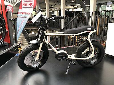 "Ruff Cycles Lil'Buddy 20"" E-Bike Bosch Perf. CX 300Wh perlweiß inkl. Licht-Set"