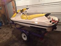 Seadoo with Trailer Trade for Saftied Car / Truck