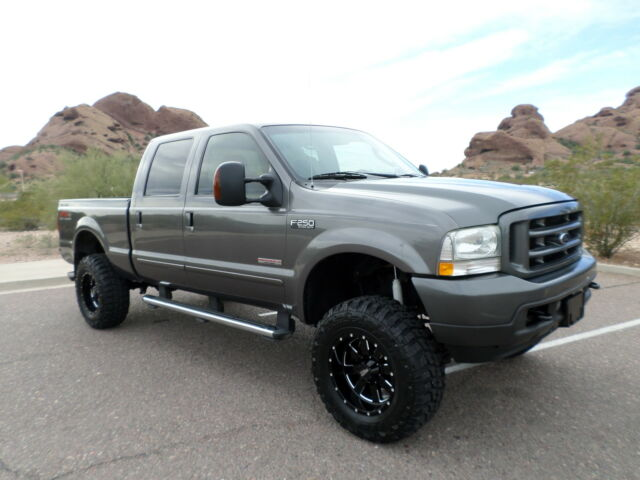 2004 ford f250 xlt super duty crew cab 4x4 powerstroke diesel lifted used ford f 250 for. Black Bedroom Furniture Sets. Home Design Ideas