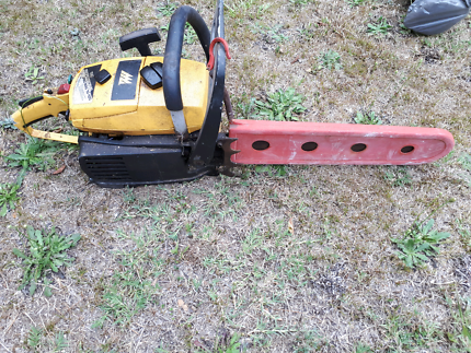 Chainsaw not starting