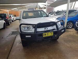 MY13 Holden Colorado LX Dual Cab Chassis 4x4 Manual Steel Tray Armidale Armidale City Preview