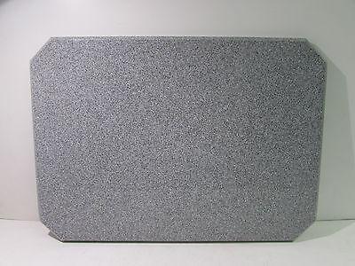 Acrylic Inoutdoor Restaurant Table Top 28 X 20 X 1 Grey Granite Nnb
