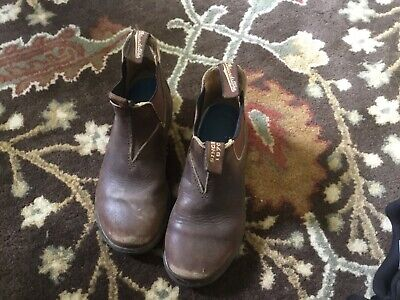 Blundstone 530 Kids Unisex Brown Leather Boots