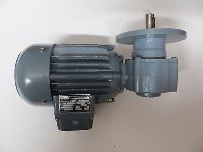 Weg Gear Motor Type Odg 632 220380v 16095a 0250kw 3380 Min-1 60hz 301