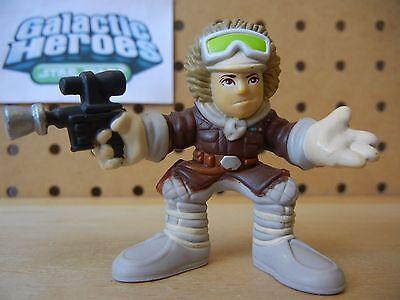 Star Wars Galactic Heroes Hoth HAN SOLO in Snow Gear & Blaster