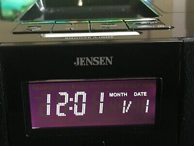 Jensen (jims-190) Universal Docking Digital Music System for iPod - Tested