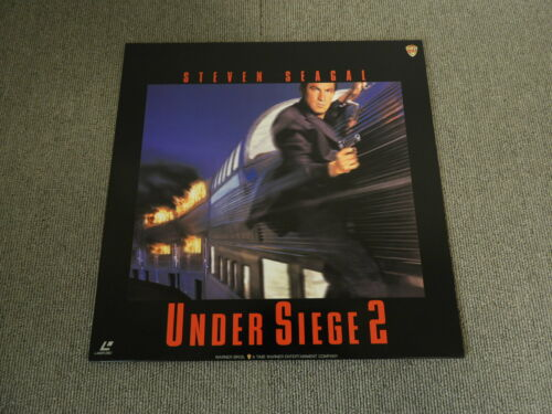 Under Siege 2 - Laser Disc - JAPAN LD
