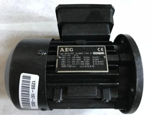 "NEW AEG AM562-BA2 AC MOTOR,0.2 HP,3/8"" SHAFT,AEG AM56Z BA2,ES"