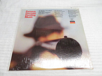 "FAMOUS GERMAN HUNTING MUSIC WAL BARNY BRASS BAND  12"" VINYL RECORD"