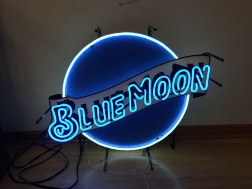 Blue Moon Large Official Neon Sign
