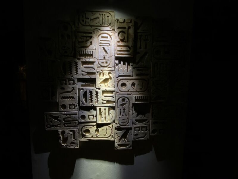 hieroglyphics Wall Tiles