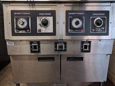 Henny Penny Ofg 322 Double Well Gas Open Fryer