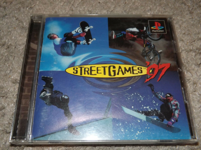 Street Games '97 [SIPS-60019] (Sony Playstation 1 + Original Case&Instructions)