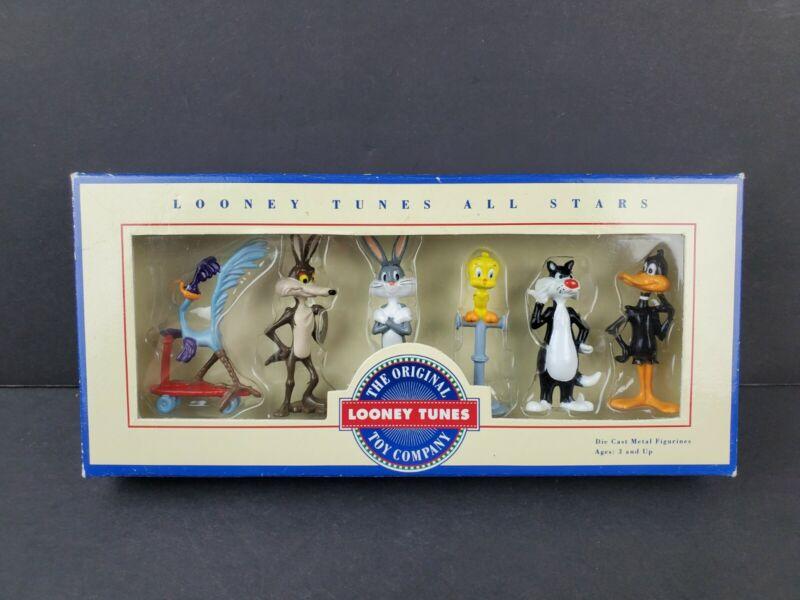 LOONEY TUNES All Stars Die Cast 6 Figure Set ERTL Vintage 1993 Warner Bros. NEW