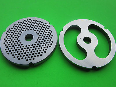 32 X 18 Stuffer Disc Meat Grinder Plates For Hobart Lem Cabelas Biro Etc