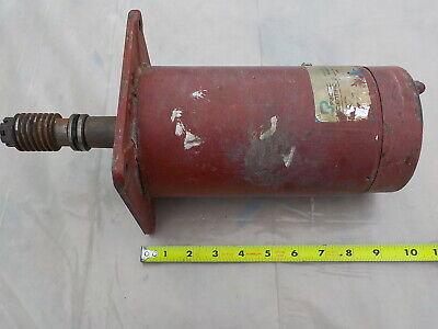 24 VDC Motor; 1 HP; Pacific Scientific (#24-1882) 36 Amp w/Worm Gear for sale  Lothian