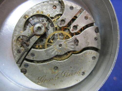 12s Hampden LS HC pocket watch movement