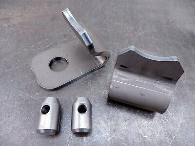 John Deere 38 Quick Attach Weld Bracket 200 300 400 500 Loader Hooks Pins