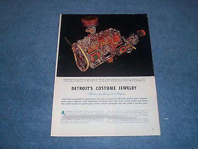 1953 Custom Factory Motor Displays für Auto Zeigt