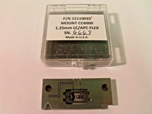 Norland Products 15110035 CC6000 Flex Mount for ϕ1.25mm LC/APC Connectors