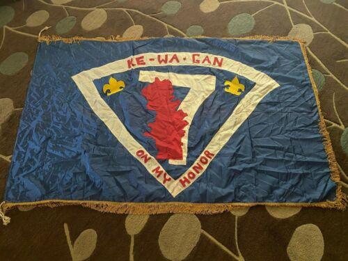 Vintage Boy Scout Ke-Wa-Gan Troop Flag