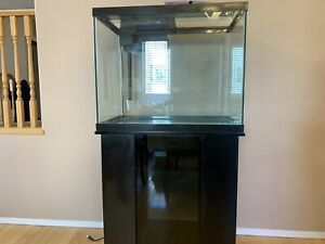Aquarium with cabinet