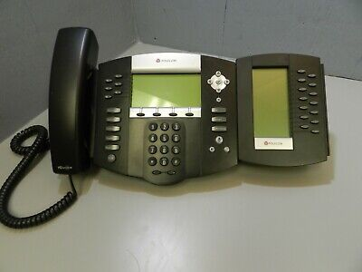 Polycom Soundpoint Ip 650 Sip 2201-12630-001 With Handset Stand And Sidecar