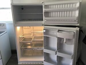 GE and Whirlpool White Kitchen Appliances