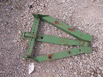 John Deere A Tractor Jd Draw Bar Drawbar Assembly Hitch Tongue Bracket Roller