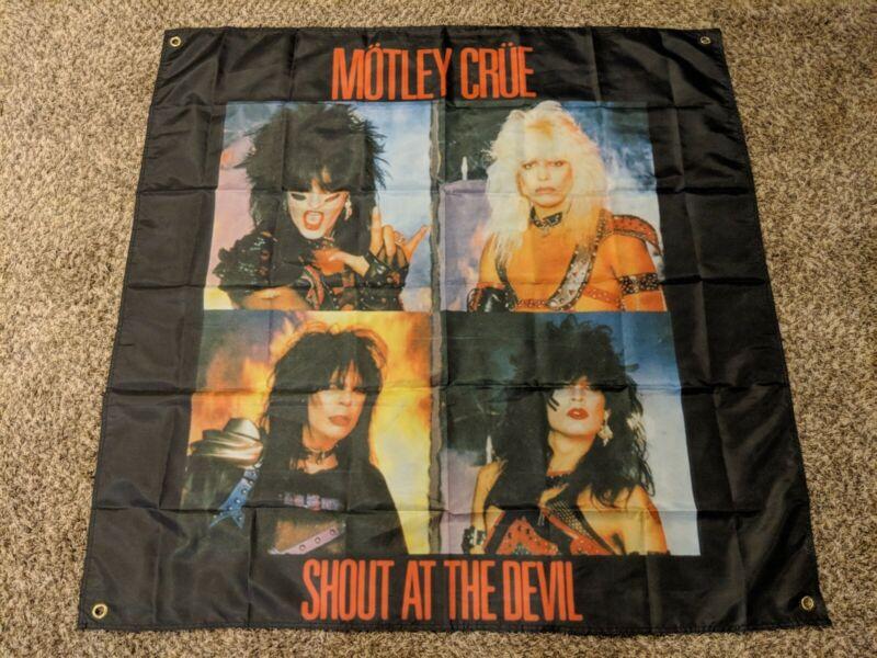 MOTLEY CRUE Shout at the Devil BANNER HUGE 4