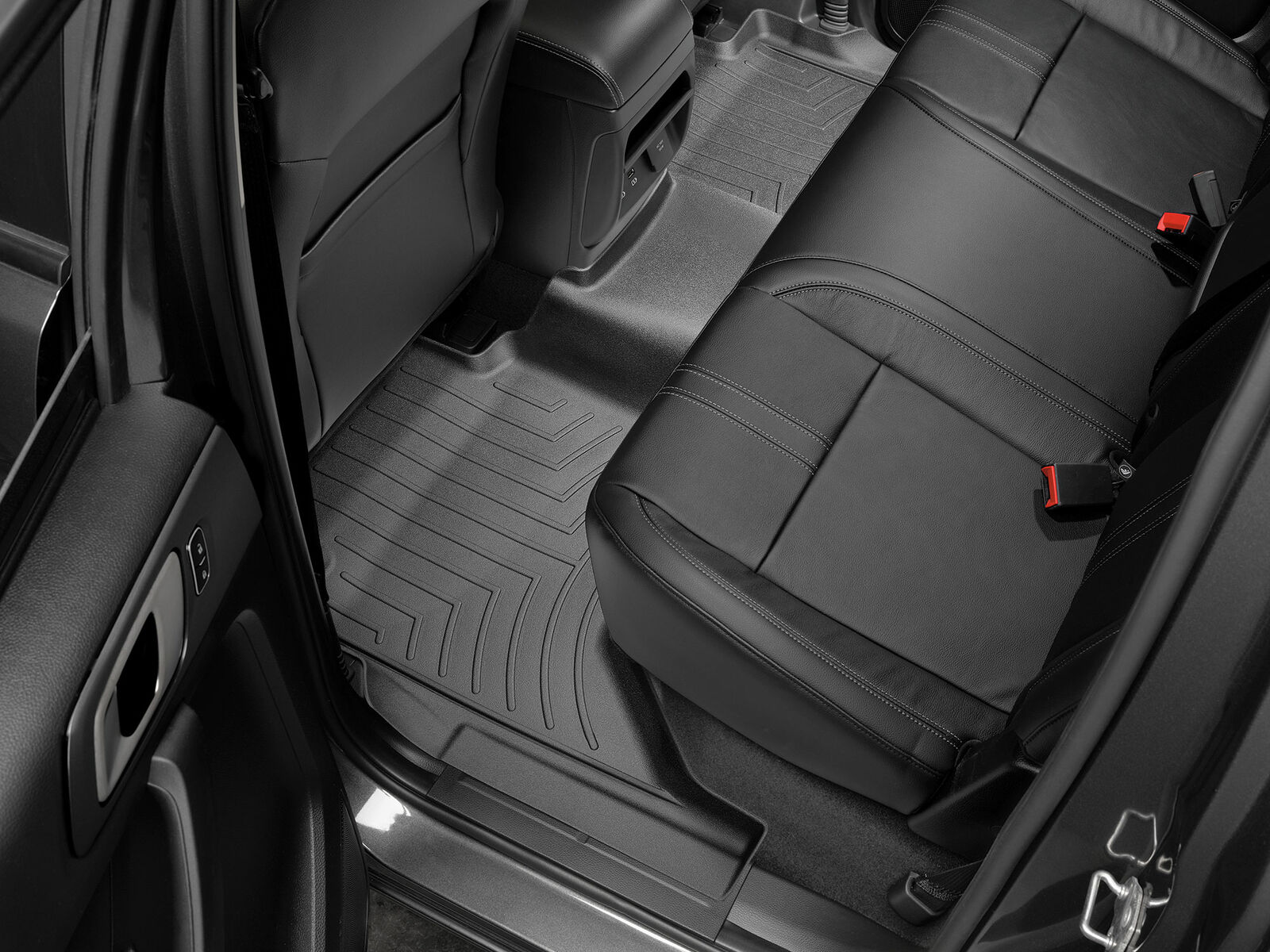 WeatherTech Custom Fit Front FloorLiner for Ford Ranger Black