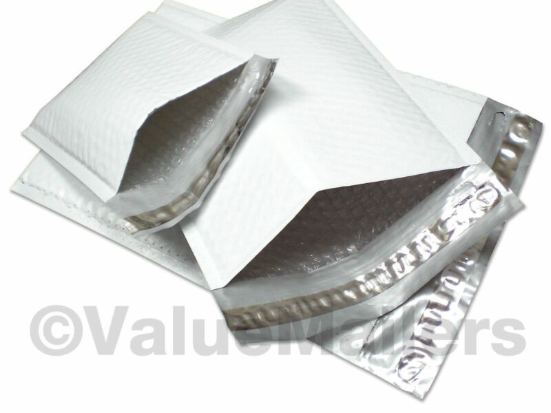 200 #2 (Poly) Bubble Padded Envelope Mailers 8.5x12 100 % Recyclable