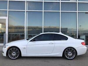 2011 BMW 335is - Alpine White/Coral Red - 7 Speed DCT