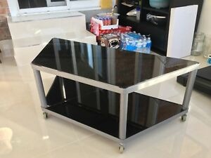(Used) Glass TV stand