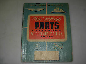 General-Motors-Fast-Moving-Parts-Catalog-No-298-Wholesale-Edition-issued-1949