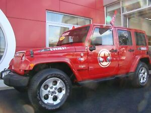 2014 Jeep WRANGLER UNLIMITED SAHARA NAVIGATION IMPECCABLE
